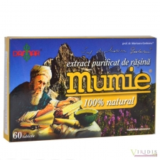 Mumie - Extract Purificat De Rasina x 30 Tablete