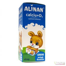 Alinan - Calciu + D3 - Sirop 150ml