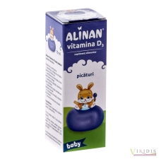 Mama si copilul Alinan Kids - Vitamina D3 - 10ml