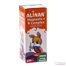 Mama si copilul Alinan Kids- Mg+B Complex  - Sirop  150ml
