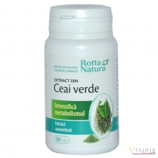Vitamine-Suplimente Extract Din Ceai Verde  x 30 Capsule