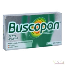 Buscopan 10mg x 20 Drajeuri