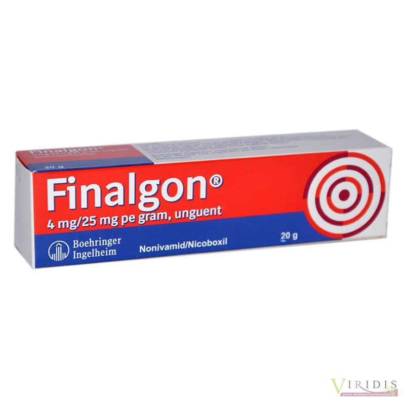 unguente pentru durere în articulații finalgon)