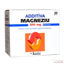 Magneziu 300mg Additiva x 20 Plicuri