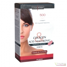 Colagen Acid Hialuronic Forte x 30 Tablete