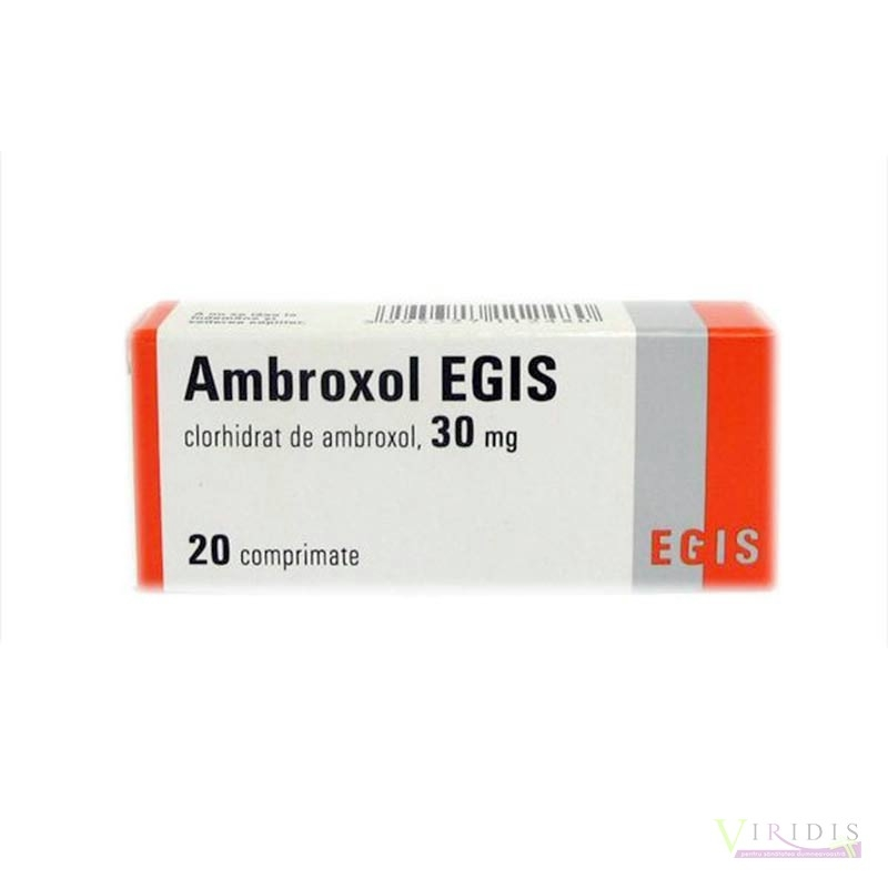 Ambroxol 30mg x 20 Comprimate
