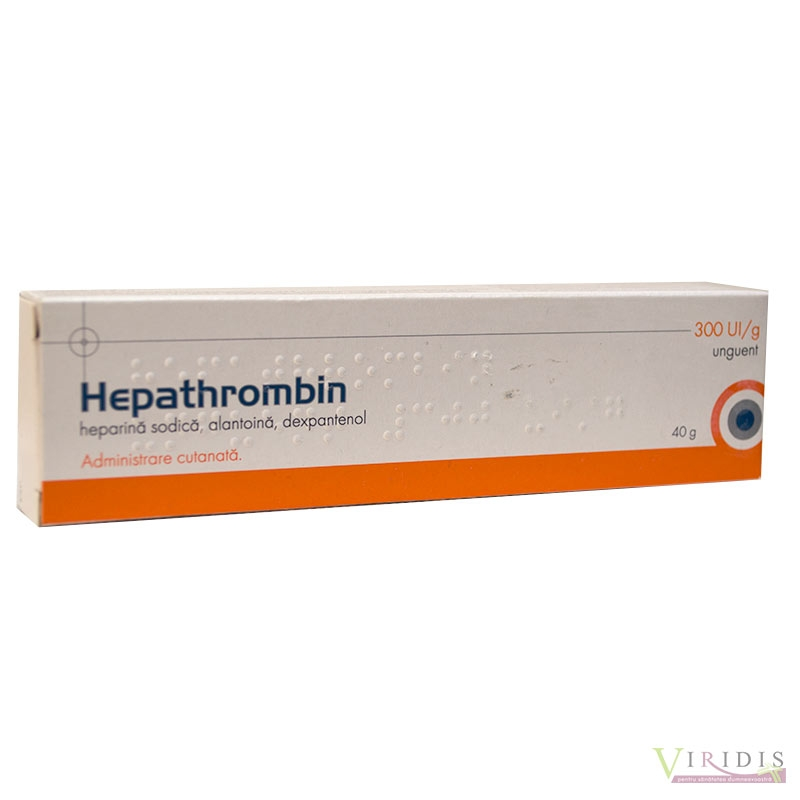 Hepathrombin 300 Ui/g Unguent 40gr tub
