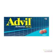 Advil 200mg x 10 Drajeuri